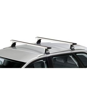 Barras aerodinamicas Fiat Panda 5p(III/319 - railing integrado) (2012--)