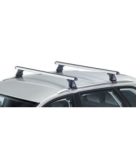 Barras aluminio Hyundai Grand Santa Fe 5p(railing integrado) (2013--)