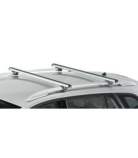 Barras aluminio Mercedes Clase C Familiar(T204 - railing) (2008--2014)