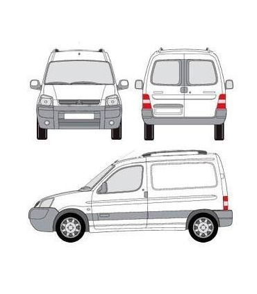 Citroën Berlingo (I - con railing) (1996 -- 2008)