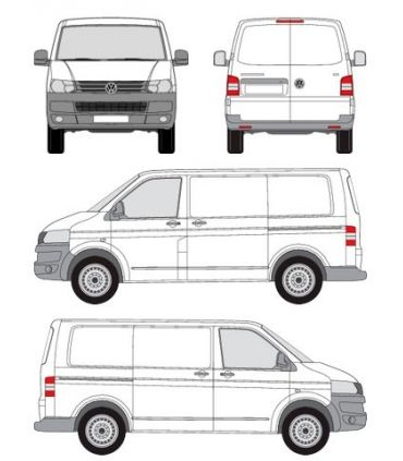Volkswagen Transporter T5 corto / normal (2003 -- )