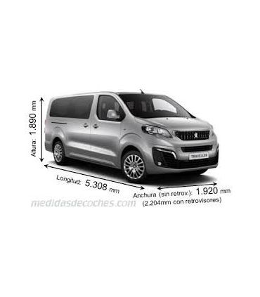 Peugeot Traveller L3H1(XL/larga) (2016--)