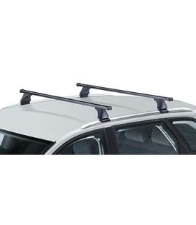 Barras acero Citroën C4 Aircross(railing integrado) (2012--)