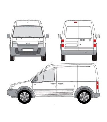 Ford Tourneo 1 /Transit Connect ( 2002-2013) largo
