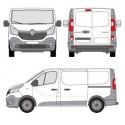 Renault Trafic  L1H1(III)  (2014 -- )